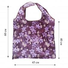 Компактная сумка шоппер из плащевой ткани принт 0502