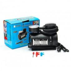 Автомобильный компрессор авто насос от прикуривателя 12в  Air Compressor черный