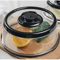 Вакуумная многоразовая крышка Vacuum Food Sealer с диаметром 25 см
