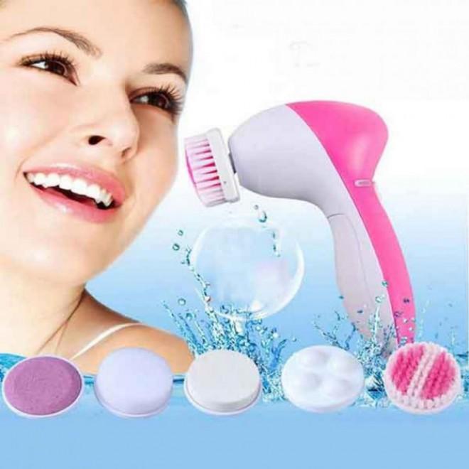 Массажер, аппарат для чистки лица и тела для лица и тела 5 в 1