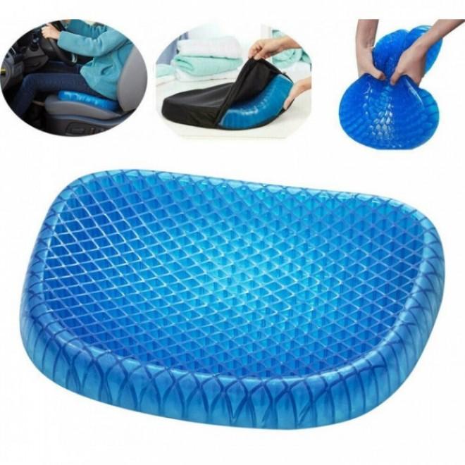Ортопедическая гелевая подушка для разгрузки позвоночника Egg Sitter