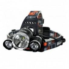 Мощный Налобный светодиодный фонарик 3 в 1, налобный фонарь, светодиодный фонарь