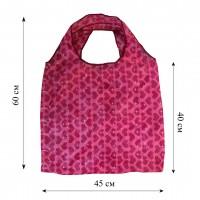 Компактная сумка шоппер из плащевой ткани принт 0501