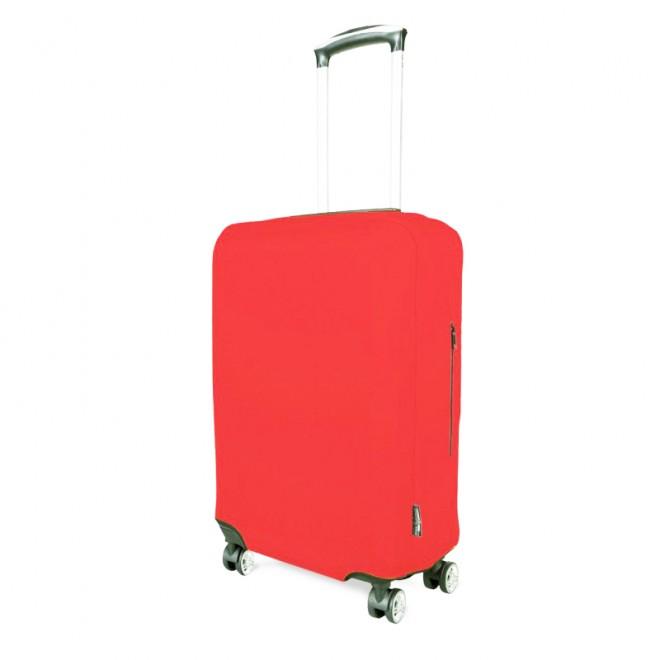 Чехол для чемодана Coverbag неопрен S коралловый