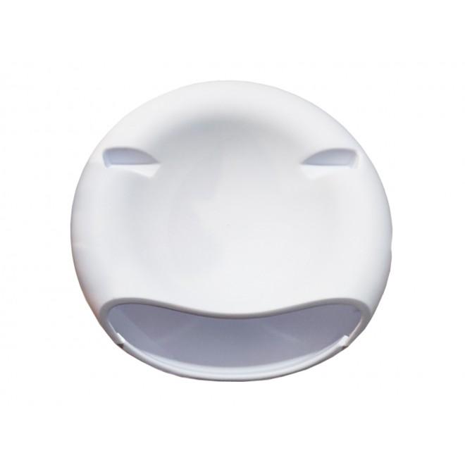Миска для семечек с подставкой для телефона белая