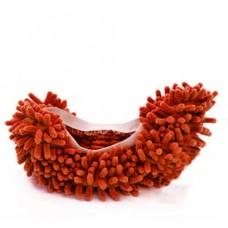 Чехлы бахилы тапочки  для уборки коричневые