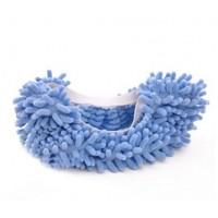 Чехлы бахилы тапочки  для уборки синие