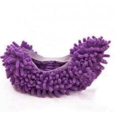 Чехлы бахилы тапочки  для уборки фиолетовые