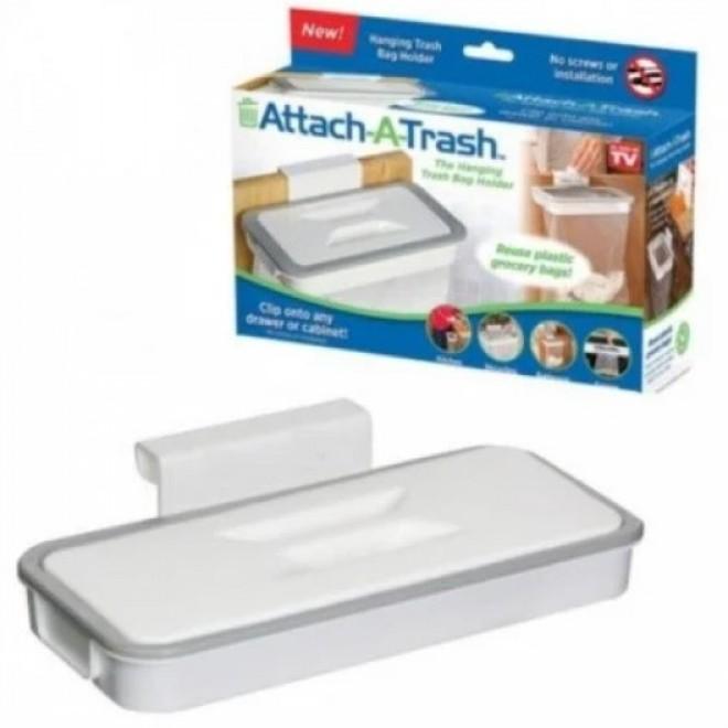 Мусорное ведро Attach-A-Trash навесной держатель мешка для мусорного пакета