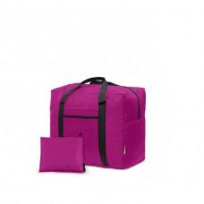 Дорожная сумка для ручной клади Coverbag фуксия Standart