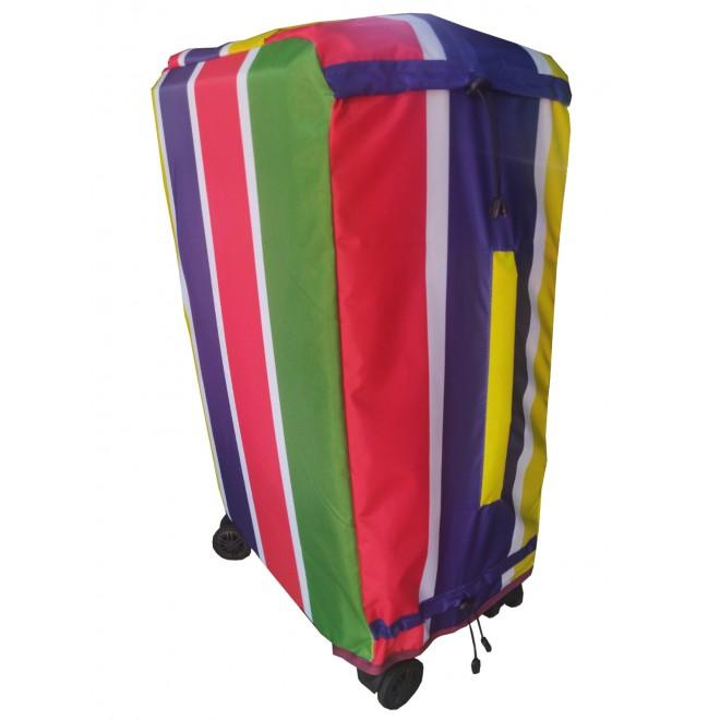 Чехол для чемодана Coverbag Нейлон Ultra М разноцветный