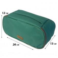 Дорожная сумка-органайзер для белья зеленый C001
