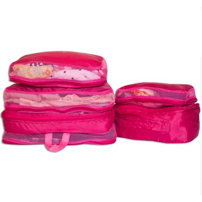 Набор 5 шт сумкок C002 розовый