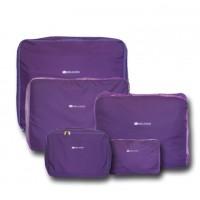 Набор 5 шт сумкок  C002 фиолетовый