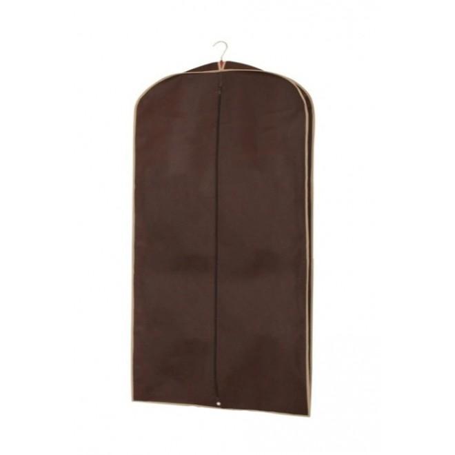 Чехол для одежды коричневый 60*137 см