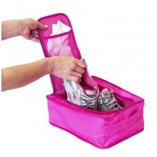 Органайзер для обуви С018  розовый