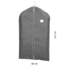 Чехол для одежды серый 60*137 см