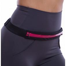 Спортивная сумка на пояс для бега Go Runners Pocket Belt малина