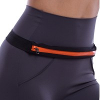 Спортивная сумка на пояс для бега Go Runners Pocket Belt оранж