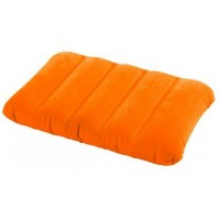 Подушка надувная Intex Pillow оранжевая 43х28х9 см