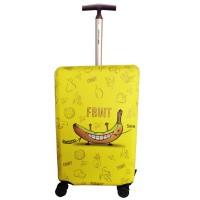 Чехол для чемодана Coverbag неопрен  S  банан