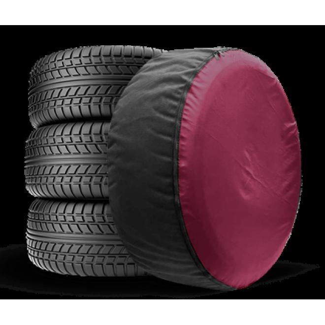 Чехол для запасного колеса Coverbag Full Protection XXL бордо