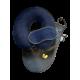 Набор Premium подушка Coverbag для путешествий синий  маска для сна
