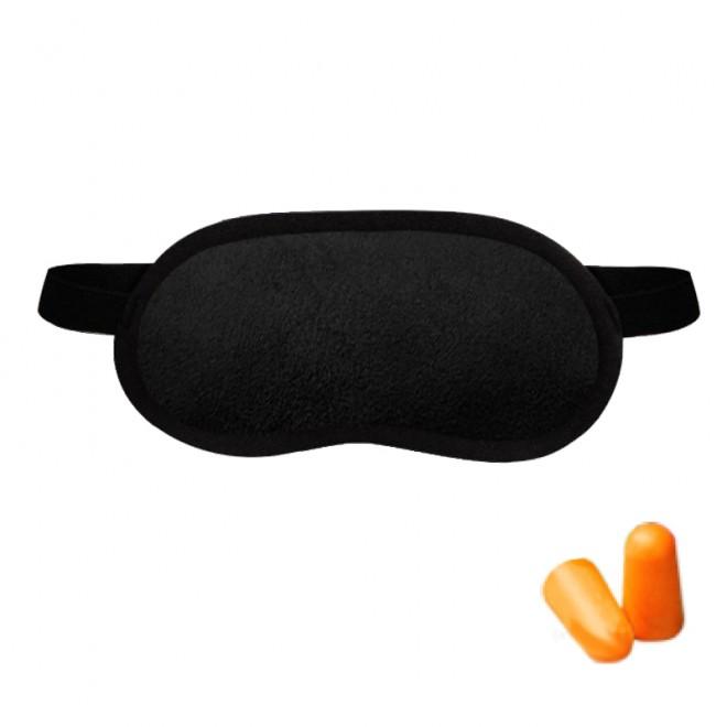 Набор для сна Coverbag черный (маска беруши)