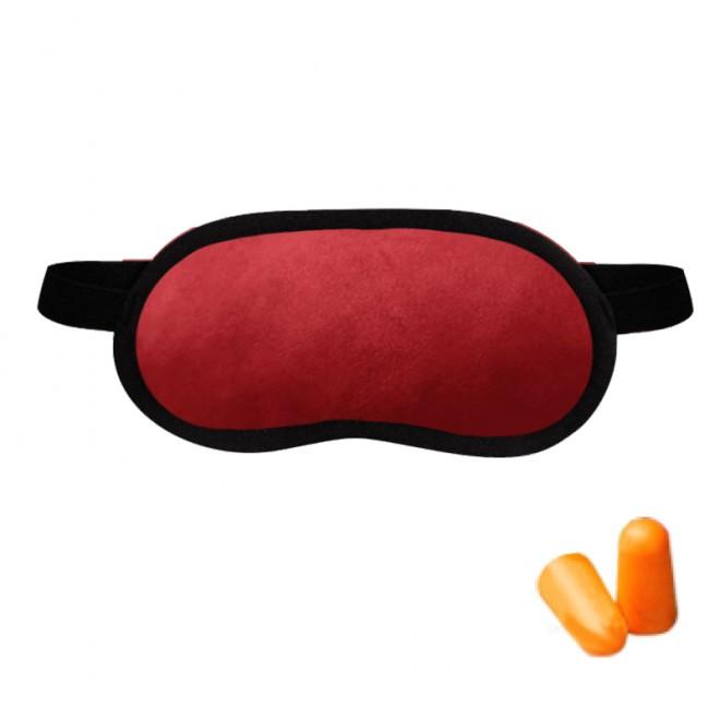 Набор для сна Coverbag красный (маска беруши)
