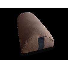 Подушка Полувалик  коричневая Coverbag