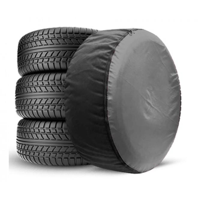 Чехол для запасного колеса Coverbag Full Protection S серый