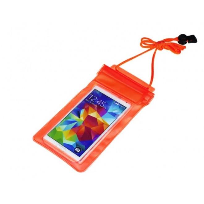 Водонепроницаемый чехол для телефона оранж