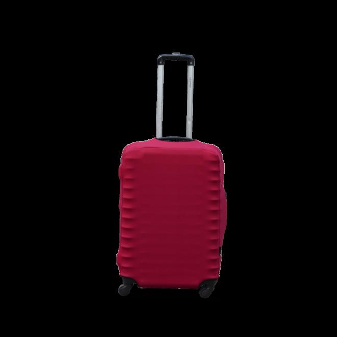 Чехол для чемодана Coverbag дайвинг M бордо