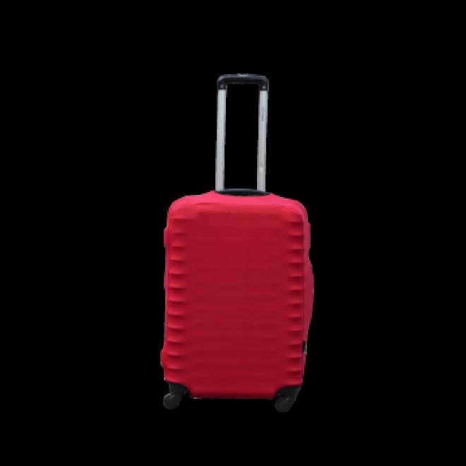Чехол на чемодан Coverbag дайвинг ХS красный