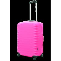 Чехол для чемодана Coverbag неопрен  L розовый