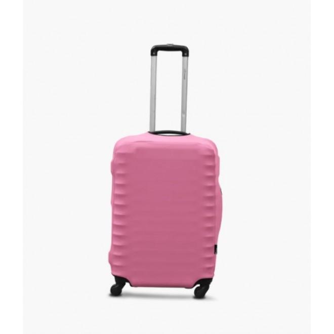 Чехол для чемодана Coverbag дайвинг L нежно-розовый