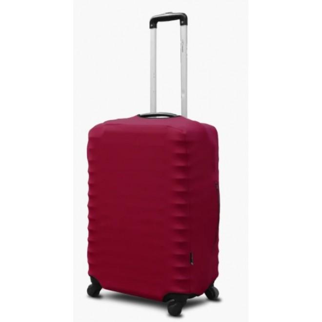 Чехол на чемодан Coverbag неопрен S бордо
