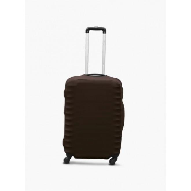 Чехол для чемодана Coverbag дайвинг M шоколад