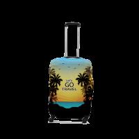 Чехол для чемодана Coverbag Lets Go S 0426