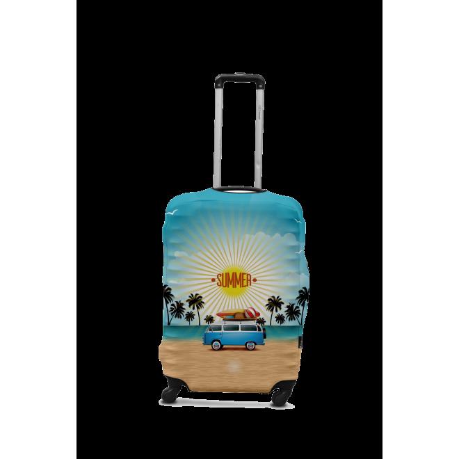 Чехол для чемодана Coverbag минивен S 0425