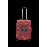 Чехол для чемодана Coverbag наушники S принт 0427
