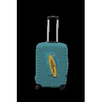 Чехол для чемодана Coverbag сёрфинг S принт 0423