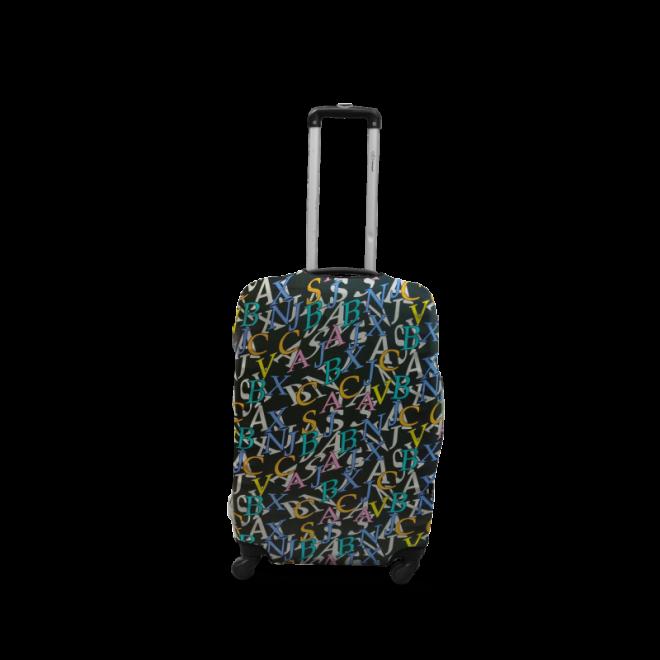 Чехол для чемодана Coverbag дайвинг L буквы