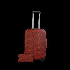 Чехол для чемодана  Coverbag  дайвинг  S красный меланж