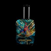 Чехол для чемодана Coverbag человек-паук L принт 0419