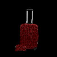 Чехол для чемодана  Coverbag  дайвинг  S  паутина красная
