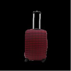 Чехол для чемодана  Coverbag  дайвинг  S  ромбы красные