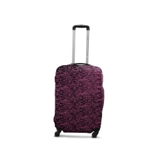 Чехол для чемодана  Coverbag  дайвинг  S сиреневый меланж