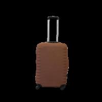 Чехол для чемодана  Coverbag дайвинг  M терракота меланж