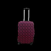 Чехол для чемодана  Coverbag  дайвинг  S  звезды на черном